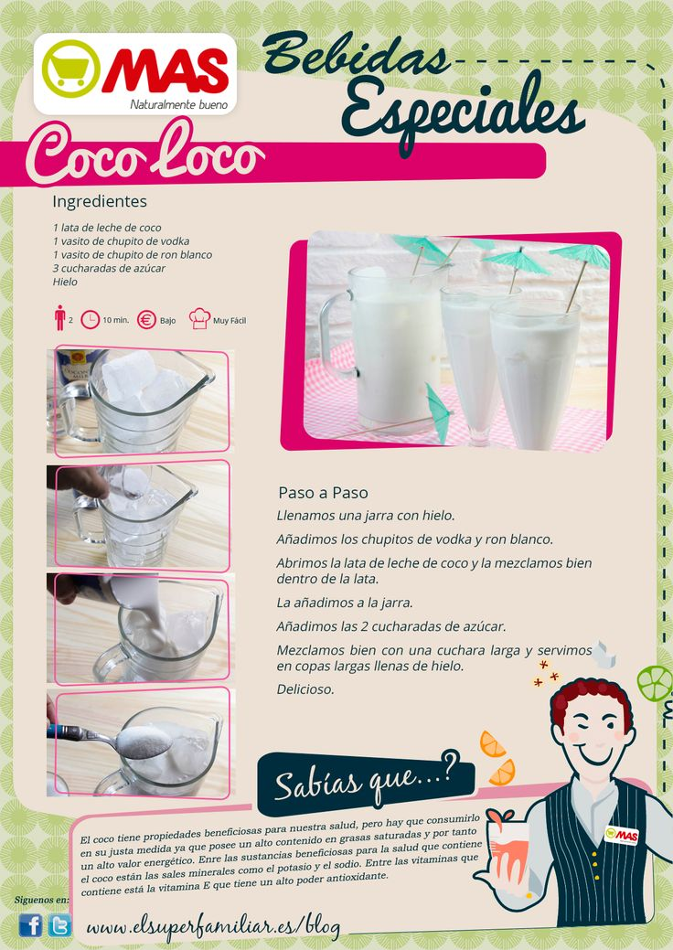 Receta de Coco Loco