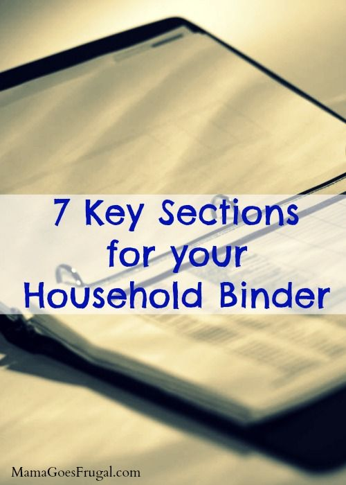 If you run a household or home, you need a household binder. A household binder holds information about kids' activities, routines, vacations, and more!