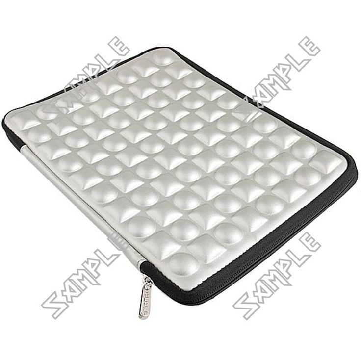 Stylish Shock Resistant Protective Cover Case Bag Pouch with Zipper for Apple iPad 3 Tablet Laptop