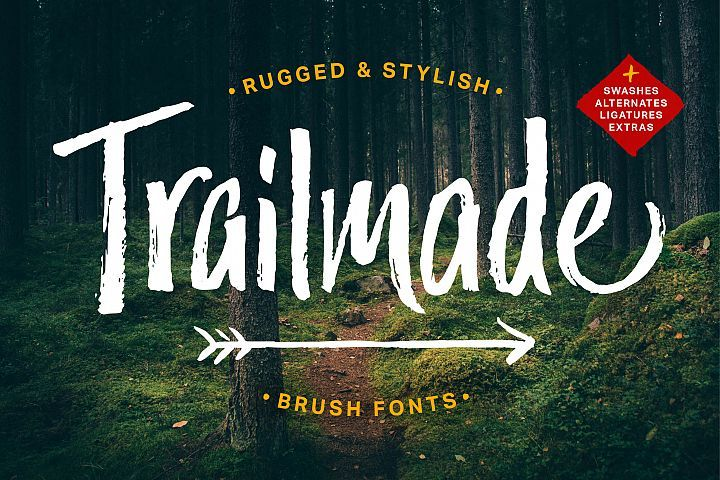 Trailmade Font Family Free Fonts Dafont Over 170000 Free Fonts