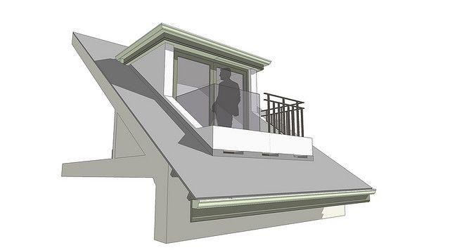 dormer balcony