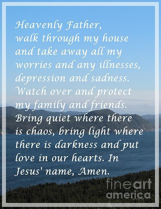 Most Powerful Prayer with Ocean View by Barbara Griffin. Ocean view with a prayer called the most powerful prayer. Memorize it and say this prayer as a mantra many times a day. This Christian prayer has been known to work.