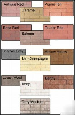 staining concrete block | Brick block concrete stone stain tint dye sample kit