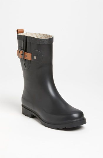Chooka 'Top Solid Mid Height' Rain Boot (Women) available at #Nordstrom