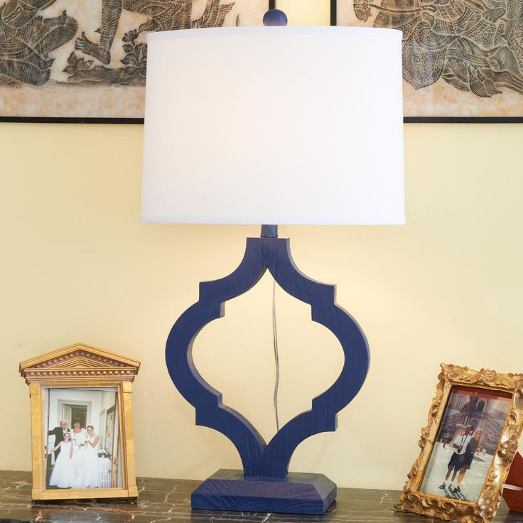 Monochrome Arabesque Table Lamp | Arabesque, Table Lamps And Monochrome