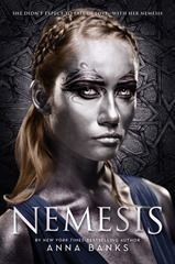 Anna Banks - Nemesis, review on The Daily Prophecy. 2.5 stars. YA, fantasy.