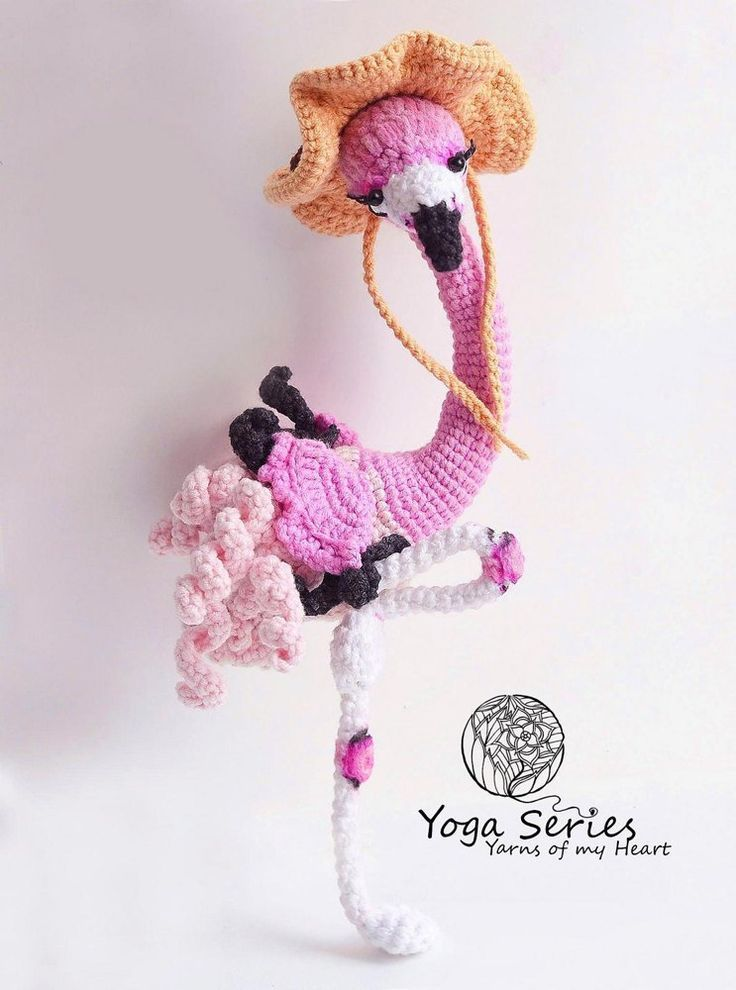 Amigurumi Flamingo Pattern Hkeln Crochet Ideen Und
