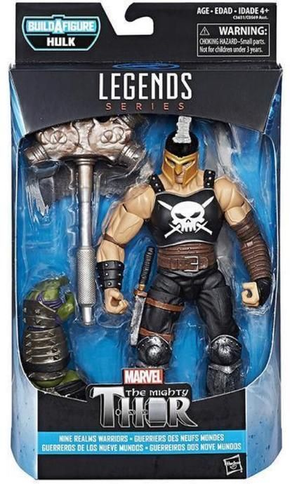Marvel Legends BAF Thor Rangarok Ares 6