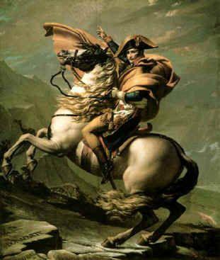 La claridad estructural y el predominio del dibujo sobre el color son algunas de las principales características formales de la pintura neoclásica. Obras como el Juramento de los Horacios, por ejemplo, plantean un espacio preciso en el que los personajes se sitúan en un primer plano.