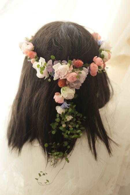 花冠 エメ・ヴィベール様へ 秋と桜と涙