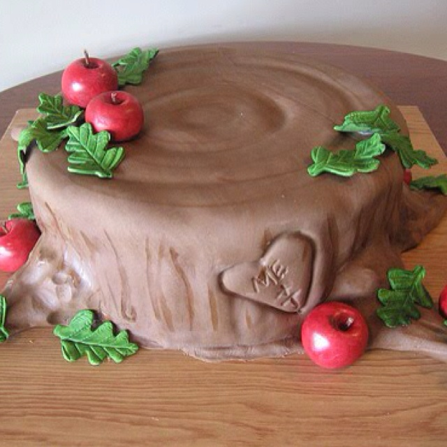 Giving Tree cake