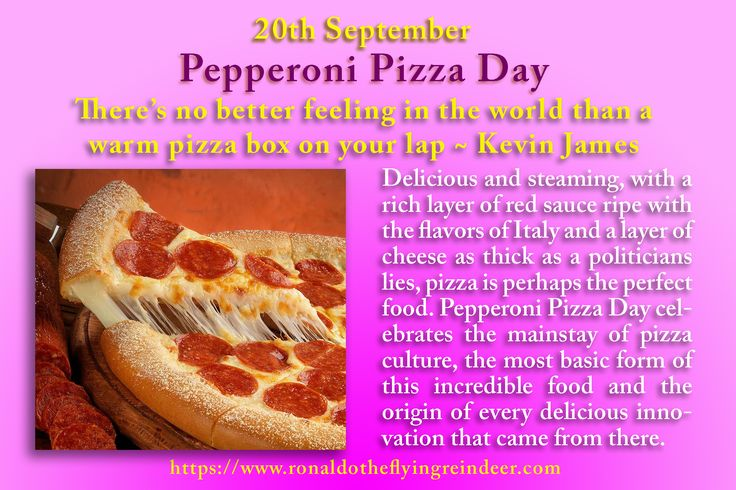 #today 20th Sept is #pepperonipizzaday  History of - Pizza is older than most people would imagine, stretching far back into ancient Sardinia. 7000 years past saw the origins of bread, the first ingredient necessary to creating pizza. From there flat breads became incredibly popular in cultures throughout the world, where they served as the basic staples for people everywhere, and were even baked on the back of shields by Persian armies. #pizza #pizzas #PepperoniPizza #food #foodie #foodies