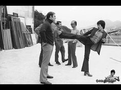 Home Footage - Behind the Scenes - Enter The Dragon - Bruce Lee