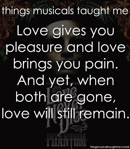 Love Never Dies. amazingly on the same level as phantom. It seriously is just as good