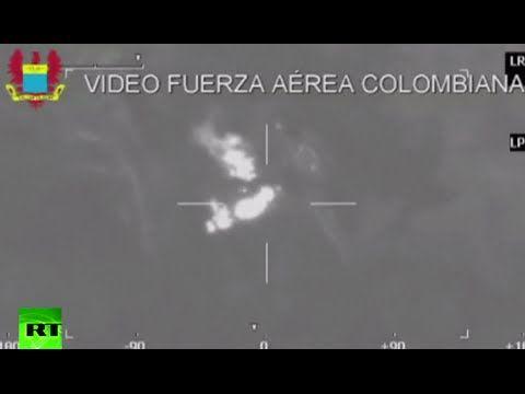 Combat cam: Colombia air force raids FARC guerrilla camp - http://www.nopasc.org/combat-cam-colombia-air-force-raids-farc-guerrilla-camp/