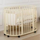 Incanto кровать детская incanto gio 3 в 1  — 9990р. ------------ производитель: incanto  особенностидетской кроватки incanto gio 3 в 1:экологичная и безопасная детская кроватка-трансформер incanto gio для детей от рождения до 5 лет. из круглой кроватки для малышей до полугода, incanto gio трансформируется в овальную кровать для детей до 5-ти лет. высокое качество обработки массива березы, а также качественные краски и лаки делают эту кроватку максимально безопасной и долговечной. кроватка…