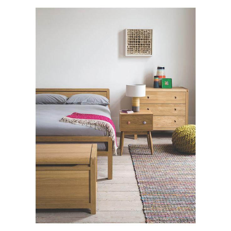 HARROW Medium multi-coloured cotton rug 140 x 200cm | Buy now at Habitat UK