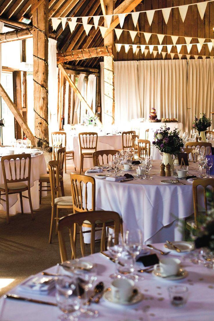 wedding reception venues north yorkshire%0A A pretty purple wedding scheme  Love Our Wedding brides of winchester  sassi holford clock barn