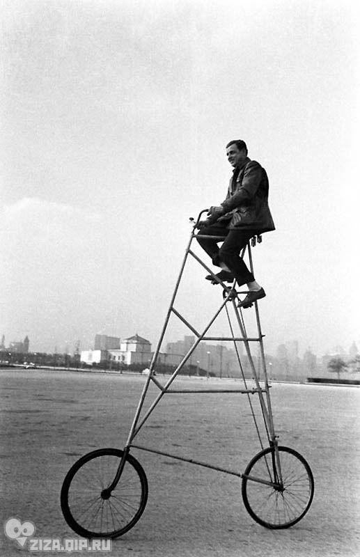 Удивительные ретро-велосипеды. Чикаго, 1948 год.