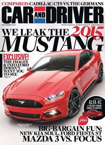 Car and Driver Magazine Sale 1-yr for $4.50! check another gift  sc 1 st  Pinterest & 17 Best images about Mustang on Pinterest | Ford mustang shelby gt ... markmcfarlin.com