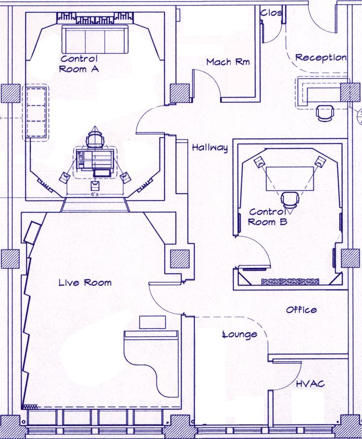 Recording Studio Floor Plans Architecture Gurus Floor