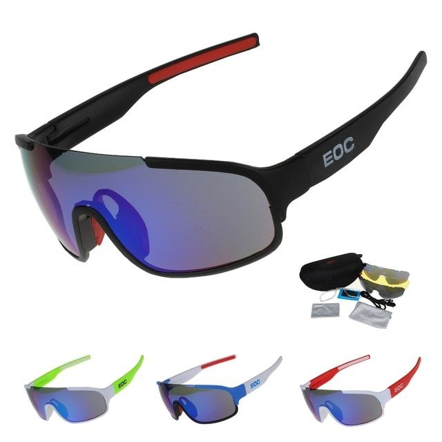9a7a3bd2ed COMAXSUN Polarized Cycling Glasses Bike Riding Protection Goggles Driving  Outdoor Sports Sunglasses UV 400 STS814 3