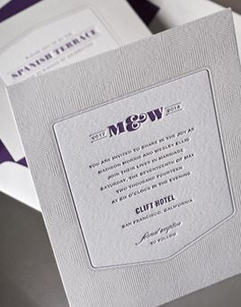 William Ashley Presents The Structure Invitation That Is Part Of The Umi  Collection By Elum. An Homage To Art Deco Architecture, Printed By  Letterpress Or ...