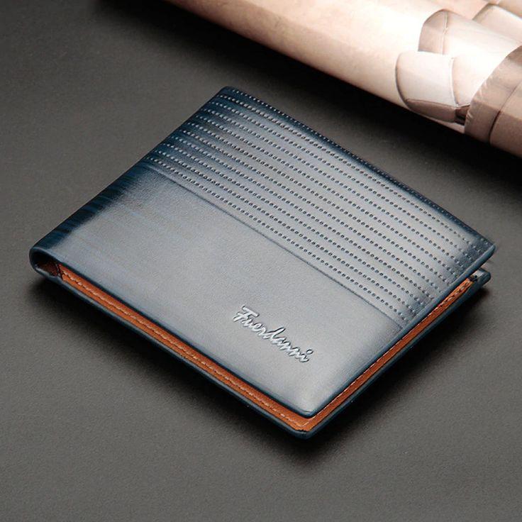 men wallet minimalist luxury designer unique modern short