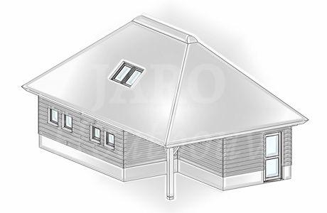 Www.jaro-houtbouw.nl 0341-759000 Rietgedekte garage met overkapping in Huizen. We hopen deze rietgedekte garage | schuur binnenkort te realiseren in Huizen. Onder garage | schuur Huizen komt een prachtige inpandige veranda.