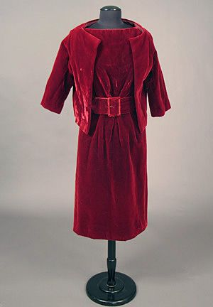 Dress and Jacket, Christian Dior, London: 1960's.