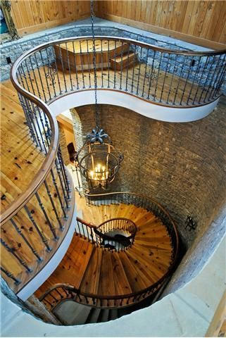 This has got to be one of the most beautiful staircases ever.
