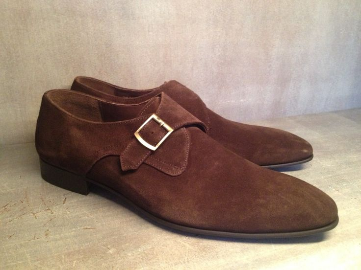 'New York' donkerbruin suede