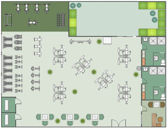 Pin by Helen Keating on Medical spaces  Rehabilitation | Gym design, Floor plans, Gym