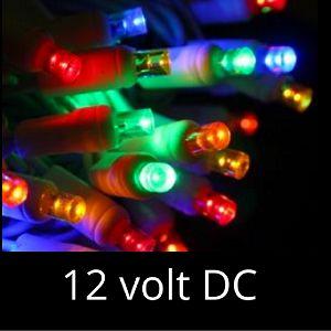 12 volt led lights multi white wire - 12 Volt Led Christmas Lights