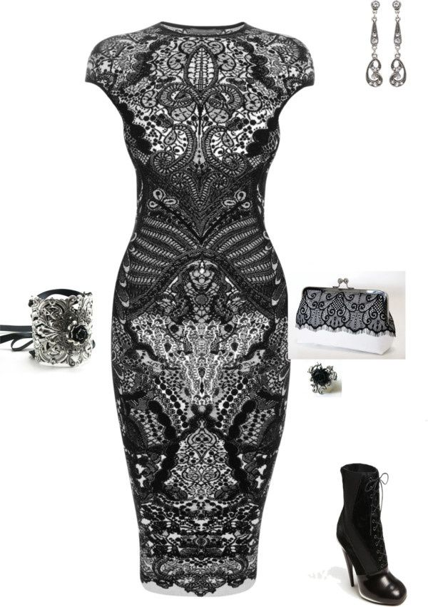 "Wedding guest attire idea. ""victorian eraish"" by kristal-coon-facemyer ❤ liked on Polyvore"