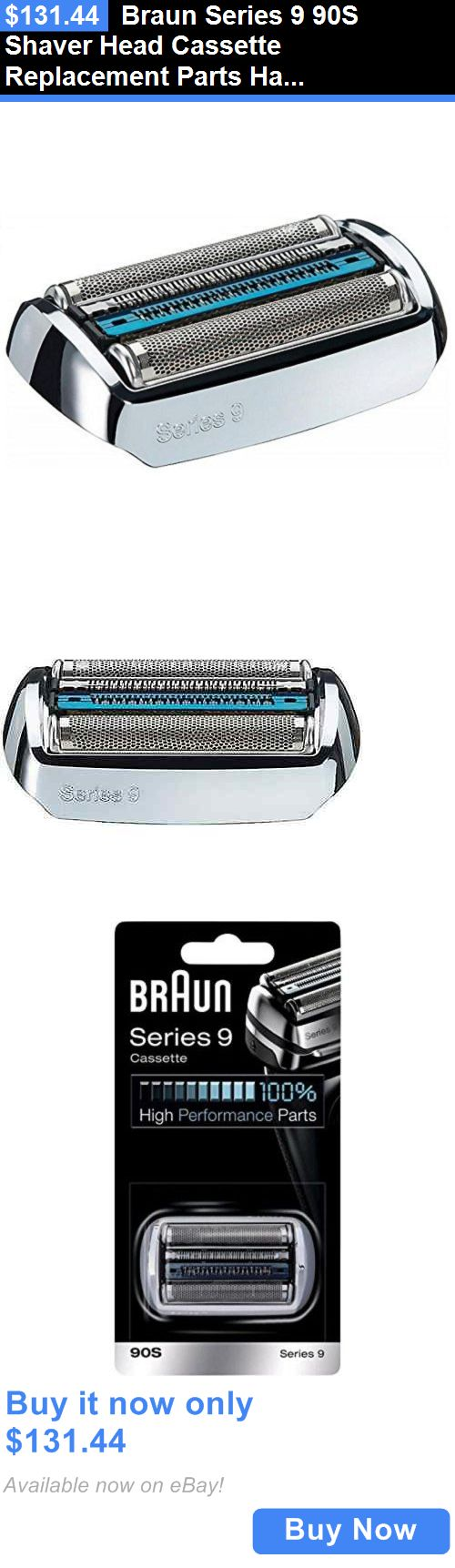 Shaver Parts and Accessories: Braun Series 9 90S Shaver Head Cassette Replacement Parts Hair Removal Supplies BUY IT NOW ONLY: $131.44