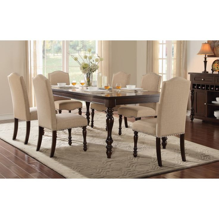 Home Elegance Benwick Collection Dining Table