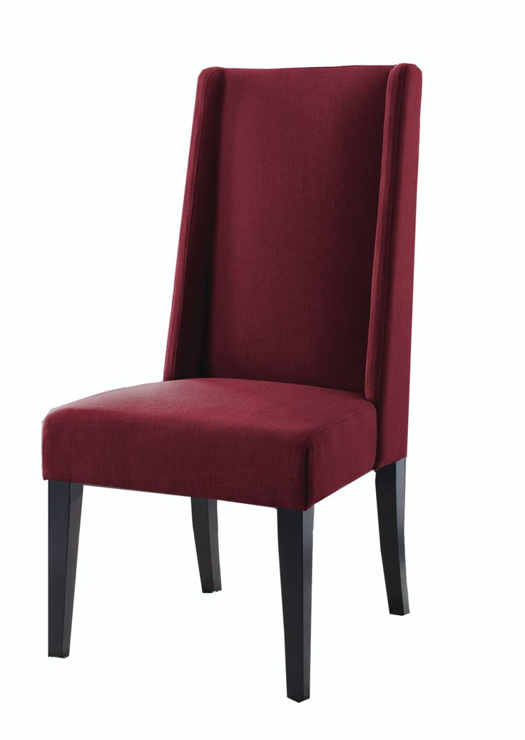 Casablanca Wing Back Chair Burgundy Outfit Your Home