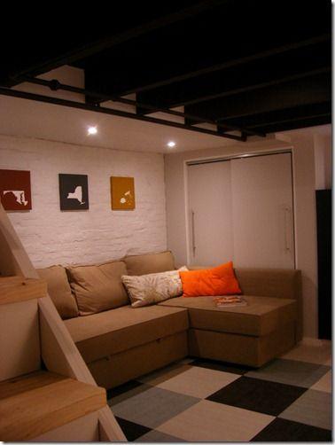 Best 25+ Basement Makeover Ideas On Pinterest | Basement Lighting, Cheap  Basement Remodel And Basement Walls Part 74