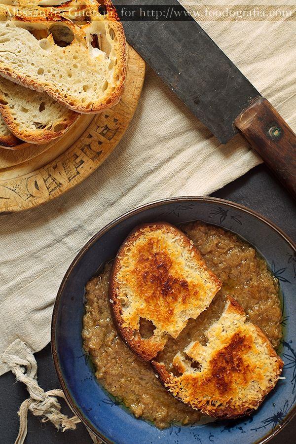 Carabaccia Tuscan Onion Soup (eat like Leonardo da Vinci) Füd