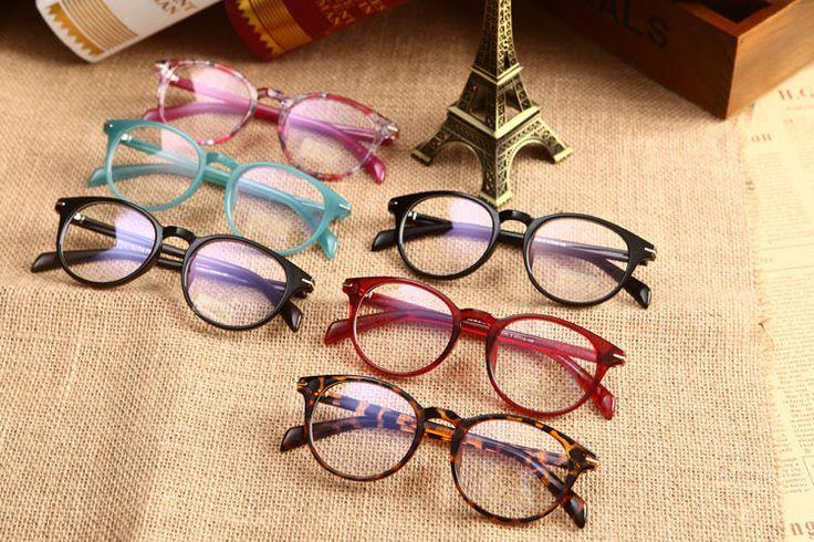 Vintage Retro Spectacles Men Women Eyeglass Frame Glasses Clear Lens Eyewear Rx #Unbranded