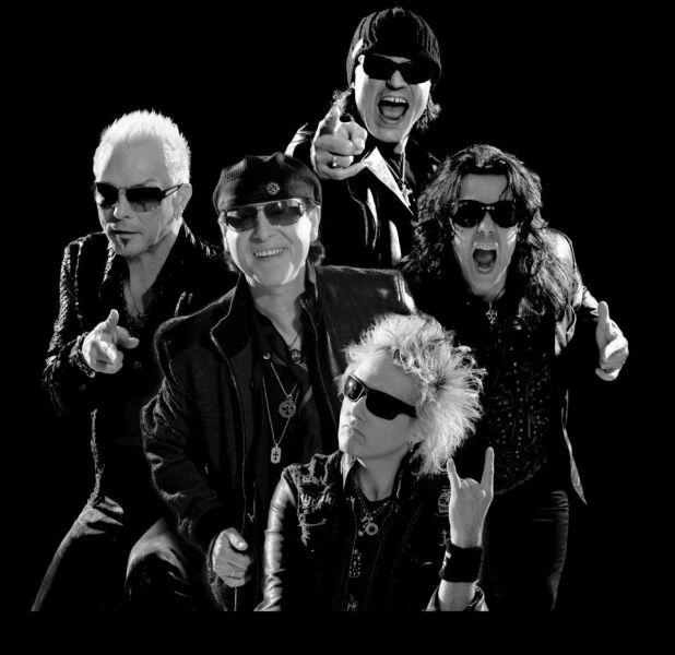 Scorpions, Banda Germanica. Para colocar no studio music