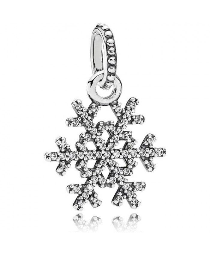 PANDORA Snowflake Pendant Charm 390354cz A lot of your favorite style will be here for you to show, work well, very cross the meaning of the times.