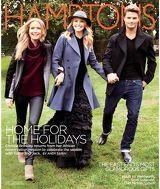 Hamptons - Christy Brinkley and children