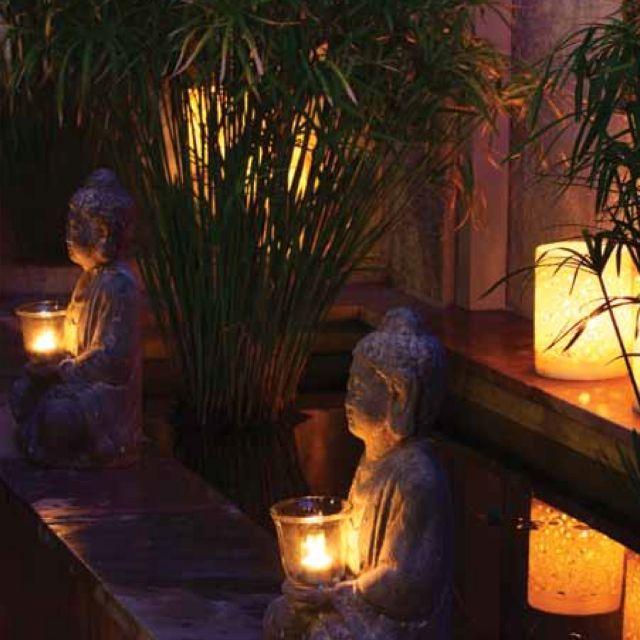 Tropische - Aziatische - Bali - Tuin - Tropical - Asian -  Garden - Indo - Indonesie - Indonesia <3 Inspiration! don't like asian much except garden art