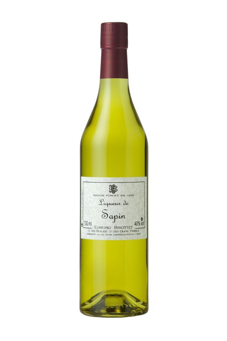 Edmond Briottet Liqueur - γευση Ελατο , 40% αλκοολ!