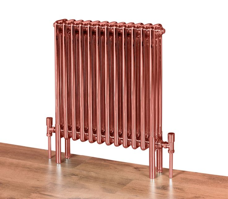 Copp'a look at this radiator!Feature Radiators' Coppa multi-column - mild steel with lacquered copper coating - for the ultimate in industrial chic.