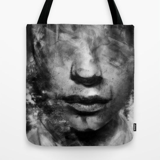 Tote Bag 'Head Blur' By Mark Francis Williams