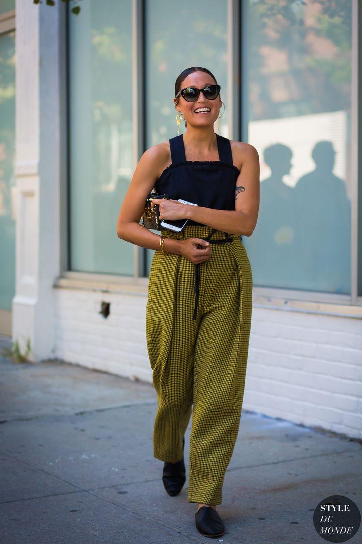 New York SS 2017 Street Style: Rachael Wang