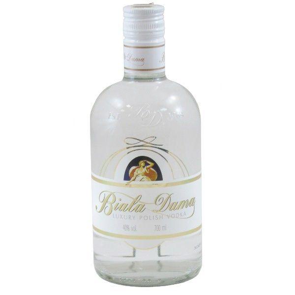 Biała Dama Vodka from Poland.